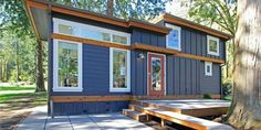 This Tiny House Makes 399 Square Feet Feel Luxurious  - HouseBeautiful.com