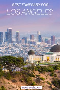 Here is a fun LA itinerary that covers the main sights and attractions in and around Los Angeles. Find out where to go, what to see and more travel tips. Usa Travel Guide, Travel Usa, Travel Guides, Travel Tips, Travel Destinations, Los Angeles Travel, Road Trip Usa, United States Travel, City Break