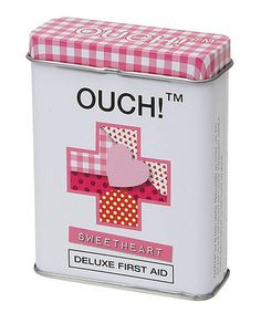 Love this Sweetheart Plasters Adhesive Bandage Tin - Set of Two on #zulily! #zulilyfinds