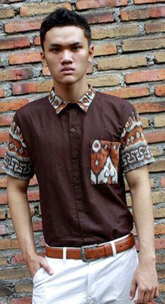 Mavazi outfit - men resort wear, pattern from Sumbawa island