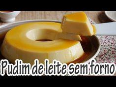 Receita de Pudim de leite - sem forno - Receitas e Temperos
