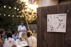 Planetary Sculpture Supper Club Outdoor Dinner and Placemat, by The Center for Genomic Gastronomy: http://genomicgastronomy.com/ Photo by Nicole Adsit