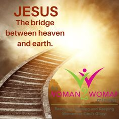"""""""Then He said to him, """"I assure you and most solemnly say to you, you will see heaven opened and the angels of God ascending and descending on the Son of Man [the bridge between heaven and earth]. Gods Glory, The Son Of Man, Heaven On Earth, Ministry, Bridge, Encouragement, Angels, Study, Amp"""