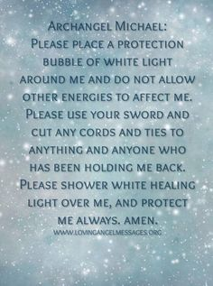 Archangel Michael prayer.                                                       …