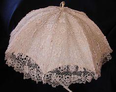 Buy Lace Yarn To DIY http://www.aliexpress.com/store/group/Lace-Yarn/1687168_503459953.html Irish crochet parasol. Amazing work! (MyPicot | Free crochet patterns)