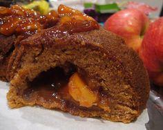 Apple Cinnamon Tunnel Cake Slice