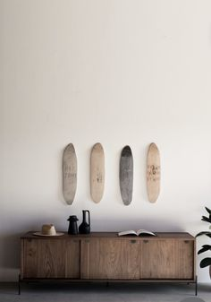 a muted palette Surfer Bedroom, Contemporary Fireplace Designs, Surfboard Decor, Surf Room, Walnut Doors, Surf House, Teen Girl Bedrooms, Surfer Girl Bedrooms, Room Ideas Bedroom