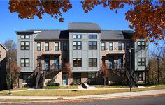 Duncan Avenue Apartments, University of Arkansas, Fayetteville, Green Globes certified, designed by Allison Architects, Inc. and Little Diversified.