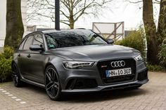 Audi RS6 Avant--Next car in my garage when the time is right, and when I can figure out how to get it to the US