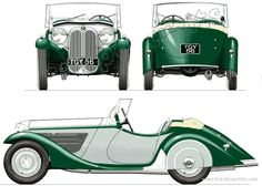 1934 BMW 315 Roadster