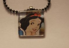 Snow White Necklace by Bourgette on Etsy, $5.00