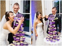 Cupcakes and a goofy woman... this would be me