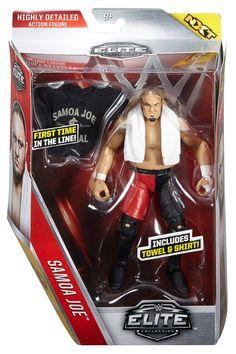 WWE Elite Samoa Joe Figure
