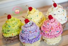 Newborn Cupcake Hats