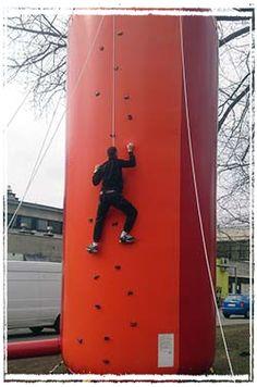 Dmuchana ścianka wspinaczkowa 600950777  http://wynajem-dmuchancow.pl/