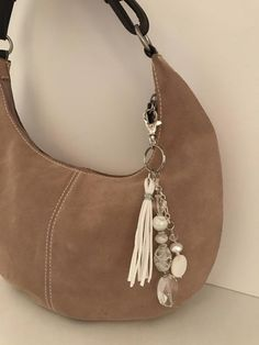 Keychain beaded keychain zipper pull bag accessory | Etsy