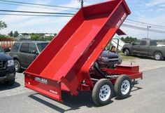 Check out item # 6878! It features 7000 GVW, 1820 Empty, 5180 Payload, Spreader Gate, Brakes, 3500lb Spring Axles, Tires 20575D15 Bias, 2-5/16″ Coupler, Powder Coat Finish, 12 Gauge Floor, 17″ Fixed Sides, Power Up – Gravity Down, and the Battery is Included!     WAS $3999         $3,799