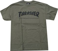 Thrasher Skate Mag T-Shirt [Medium] Army/Black Thrasher M... https://www.amazon.com/dp/B00L4DOENG/ref=cm_sw_r_pi_dp_x_tw.KybF9HQE90