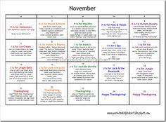 Amazing Preschool Plan - very detailed if you need inspiration...