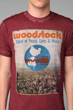 Woodstock Acid Wash Tee #urbanoutfitters