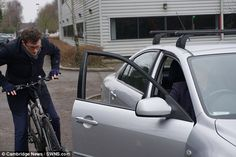 Campaigners in the UK hope the technique will reduce the number of cyclists injured through 'dooring' which was the cause of 474 accidents across the UK in 2015 Cyclists, About Uk, Dutch, Number, Car, Automobile, Dutch Language, Vehicles, Cars