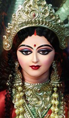 Saraswati Goddess, Shiva Shakti, Devon Ke Dev Mahadev, Mata Rani, Lord Krishna Wallpapers, Indian Goddess, Durga Puja, Gold Letters, Gods And Goddesses
