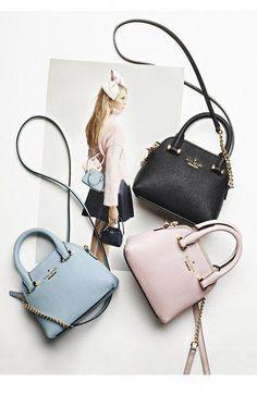 kate spade new york cedar street – mini maise crossbody bag - Women's Handbags Fashion Handbags, Purses And Handbags, Fashion Bags, Leather Handbags, Leather Purses, Women's Fashion, Kate Spade Bag Crossbody, Kate Spade Wallet, Kate Spade Purse