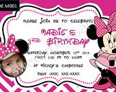 Cute and cheap custom made and personalized birthday invitations for your little one
