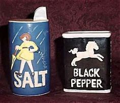SALT and BLACK PEPPER, S&P Shakers