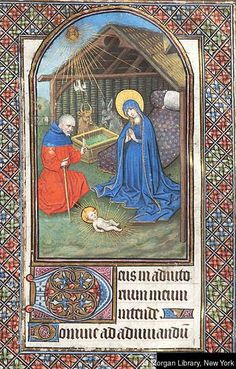 Book of Hours, MS M.168 fol. 11r - Images from Medieval and Renaissance Manuscripts - The Morgan Library & Museum