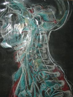 "Jennifer Ramsay; Charcoal 2011 Drawing ""untitled"""