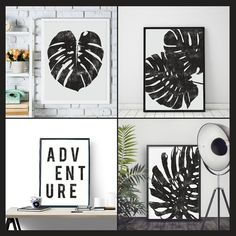 New Ink Style Tropical Wall Art created today. I had so much fun thinking of this 4 posters set and making it. Combine all of them to make your wall happy and never forget to add some adventure to your life!  Add the code HAPPYWALLS for a 33% discount! 🌴