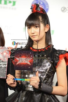 Congrats !! SU-METAL(BABYMETAL)  Babymetal won the grand-prise of 2015 Japan CD-shop Award.