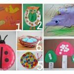 bug art crafts