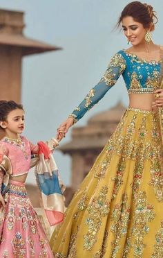 Our All Products are fully customizable. Please contact us if you want to me any customization in this product. If you selected fully stitched. Bridal Mehndi Dresses, Indian Bridal Lehenga, Indian Gowns, Indian Attire, Indian Wear, Wedding Dresses For Girls, Indian Wedding Outfits, Bridal Outfits, Indian Outfits