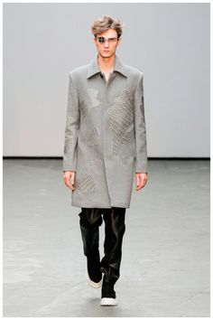 #Menswear #Trends Xander Zhou Fall Winter 2015 Otoño Invierno #Tendencias #Moda Hombre T.F.