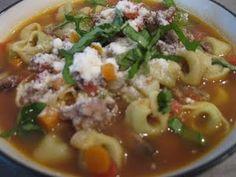 Sausage Tortillini Soup