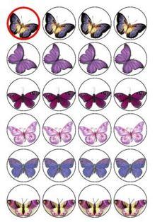 "24 x 1.5"" or 12 x 2.18"" = £1.76  Rice paper butterflies"