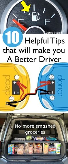 Car tips and tricks that will help you be more prepared! A few DIY ideas, too.