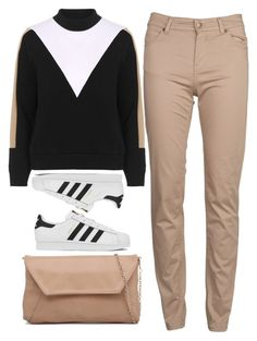 """""""adidas"""" by ecem1 ❤ liked on Polyvore featuring Topshop, adidas, Barbour, women's clothing, women, female, woman, misses and juniors"""