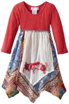 MIMI & MAGGIE Baby Girls' Apron Patchwork Dress, Red, 12 Months Mimi & Maggie http://www.amazon.com/dp/B00C06I4YG/ref=cm_sw_r_pi_dp_cQa3vb1ZB9EDX