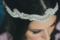 the bride's halo headband