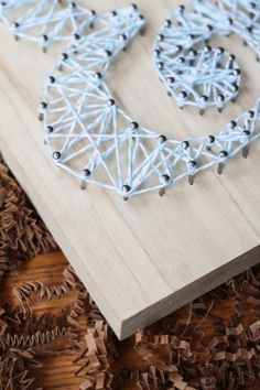 make this string art - tutorial at 52weeksproject.com