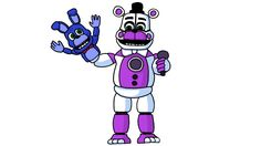 How to Draw Funtime Freddy from Sister Location FNaF