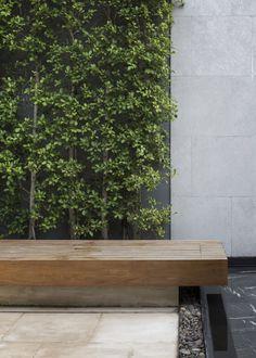 50 Amazing Modern Garden Architecture Design Ideas - Page 36 of 50 Landscape Design Plans, Modern Garden Design, Patio Design, Tropical Landscaping, Landscaping With Rocks, Modern Landscaping, Garden Architecture, Architecture Design, Small Gardens