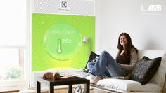 Let bacteria keep your air clean with Living Air Flow (LAF) - from #DesignLab2014