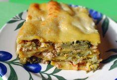 Csirkés lasagne 2. -zöldséges Lasagna, Tortellini, Apple Pie, Ale, Ethnic Recipes, Desserts, Food, Lasagne, Postres