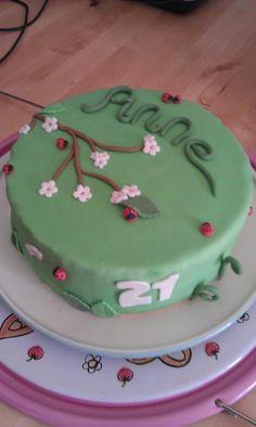 Ladybug birthdaycake