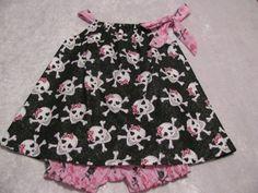 Pirates Pillowcase Dress size 18 - 24 Months
