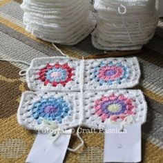 Get free pattern and tutorial on how to crochet a sunburst granny square blanket. Tips on storage and squares arrangement while working on it. - Page 2 of 2